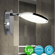 LED design applique murale lampe de salon lampe commutable chromé mobile WOFI