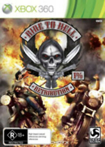 Ride to Hell Retribution Xbox360 Xbox 360 Game AU version Factory Sealed