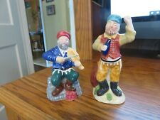 FIDDLER ON THE ROOF Salt and Pepper Shakers!     No other on Ebay!!!!