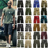 Mens Military Army Camo Cargo Shorts Summer Casual Work Tactical Pants Trousers