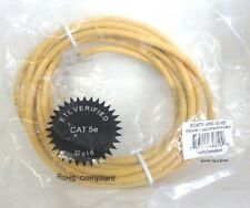 CESCO / Lynn ECAT5-4PR-10-YE UTP Category 5e Patch Cord; 10 ft, Yellow