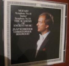 MOZART symphony No. 41- No.34 -CD L'OISEAU LYRE-Hogwood-fino 2 cd spese fisse