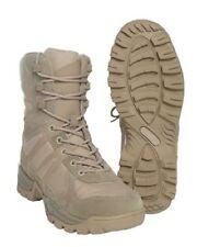 LEICHTER  EINSATZ TACTICAL OUTDOOR FREIZEIT STIEFEL Boots KHAKI 43