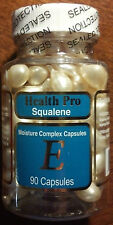 Nu-Health Squalene Vitamin E Skin Oil Moisture Complex - 90 Capsules