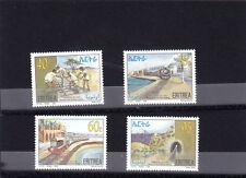 stamps ERITREA 1996 SC 278-281 REVIVAL ERITREA RAILWAY IPZS ITALY MNH SET ER#9