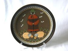 Wandteller Schäfer KMK Kupfermühle Keramik Ø 28,5 Dekor 24000 Entwurf Kr. Werner