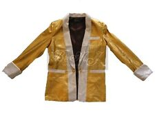 Elvis Presley Gold Lame Costume Jacket Sz S / M / L / XL /XXL/3XL