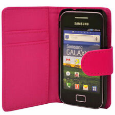 Luxury Leather Wallet Case Phone Cover for Samsung Galaxy Ace GT-S5830/GT-S5830i
