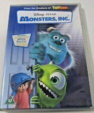 Monsters, Inc. DVD (2002) Pete Docter cert U