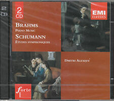 BRAHMS PIANO MUSIC SCHUMANN STUDI SINFONICI - ALEXEEV 2 CD