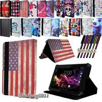 "For Various RCA 7"" 8"" 10.1"" Tablet - Folio Stand Leather Cover Case"