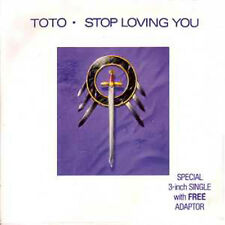 CD single Toto Stop loving you 3 tracks card sleeve RARE