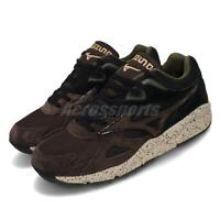 Mizuno Sky Medal Black Brown Green Men Running Casual Lifestyle Shoe D1GA1923-55