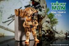 "FigureBase TM005 5"" Trickyman 3 Seal Team 6 MINI Action Figure Model Toy"