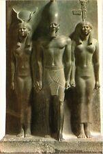 CPM EGYPTE King Mykerinos with Goddess Hathor and nome Goddess (343481)