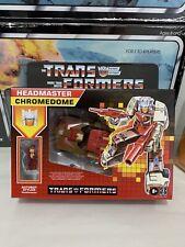 Transformers Generations Retro Reissue Headmaster Chromedome w Autobot Exclusive
