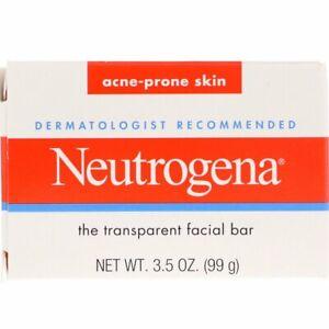 Neutrogena, The Transparent Facial Bar, Acne Prone Skin, 3.5 oz (99 g)