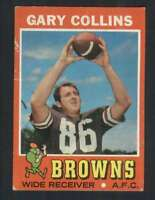 1971 Topps #75 Gary Collins VG/VGEX Browns 66043