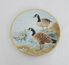 The Danbury Mint Vintage Collectable plates - Waterbird plates - Canada Goose