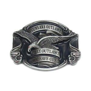 Boucle de ceinture : Aigle , USA , Country , Cowboy ,only outlaws