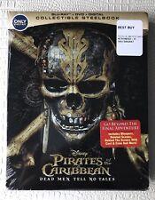 Pirates of the Caribbean: Dead Men Tell No Tales (Blu Ray) Steelbook. Rare