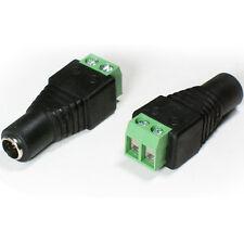5.5mm x 2.1mm DC Female Screw Terminal Connector -CCTV Jack Socket Power Adapter