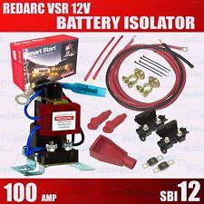REDARC SBI12KIT DUAL BATTERY SYSTEM COMPLETE PACKAGE BATTERIES 12 VOLT ISOLATOR