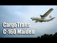 RC Kit Avion Cargotrans C-160 Double Hercules 1120 mm Envergure Epos Transport