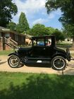 1926 Ford Model T Deluxe 1926 Ford Model T Coupe Black RWD Manual Deluxe