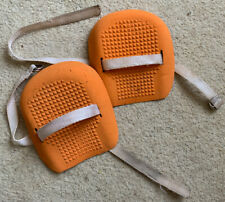 Pair of strap-on rubber kneelers/knee guards for gardening/DIY etc