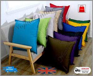 New Waterproof New Garden Cushion Furniture Cushion Covers Outdoor 60 x 60cm