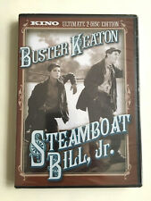 Steamboat Bill Jr. 2-Disc Ultimate Dvd Edition, Kino, Buster Keaton Brand New!