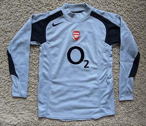 Arsenal 04-05 vintage Goalkeeper kit/jersey youth L - boys 2004/05