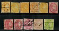 Venezuela #22-31,33 1871-76 Used
