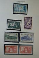 1937 Mint Stamp France Mermoz/Railways/Descartes/International Exhbition Paris