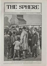 1901 Estampado Premier Sintaluta Estación Canadiense Pacific Ferrocarril Wilfred