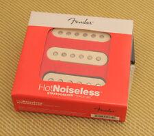 099-2105-000 Fender Hot Noiseless Stratocaster/Strat Pickup Set Aged White