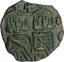 Constantine V & Leo Iv Khazar & Leo Iii Syracuse Ancient Byzantine Coin i51423