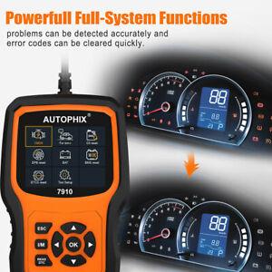 Autophix 7910 OBD2 OBDII Car Diagnostic Code Reader Reset Scan Tool for BMW MINI