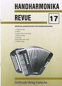 diat. diatonische Handharmonika Noten : Handharmonika Revue 17 - mittelschwer
