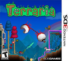 TERRARIA 3DS GAME NEW