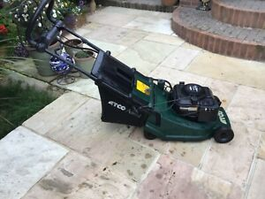 Atco admiral 16 s lawn mower power drive roller electric start (but no key)