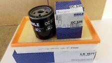 Ford Focus MK2 1.8  TDCi 1753cc Oil Air Filter Mahle Service Kit 2005-2007