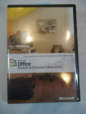 Microsoft Office 2003 Student and Teacher Edition - With Product Key