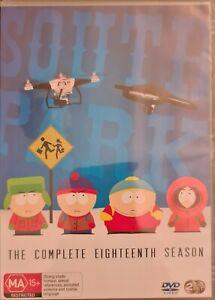 South Park - The Complete Eighteenth Season - DVD Box Set Region 4