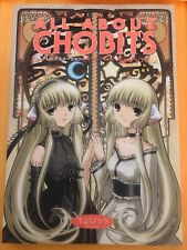 Tv Animation All About Chobits Japanese Artbook Super Rare