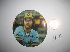 1978 Gorman Thomas, Milwaukee Brewers Sports Photo Association Player Button PIN