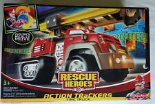 Fisher Price Rescue Heroes Action Trackers Fire Truck NEW SEALED