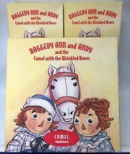 "13"" Applause Raggedy Ann & Andy & Camel W/ Wrinkled Knees COA With Boxes"