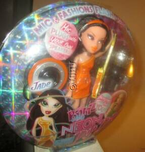 Bratz Neon Pop Divaz Jade Doll NEW NIB